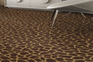 Novelty Commercial Carpet / Animal Pattern Carpet / 1879